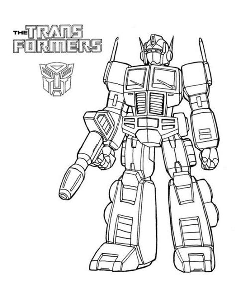 transformers coloring pages easy free transformers coloring pages picture 6 550x687 picture