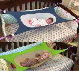 crescent womb a newborn crib hammock which helps reduce