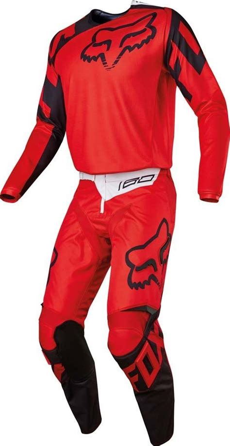 fox motocross clothing uk 2017 fox race 180 hc motocross gear red 1stmx co uk