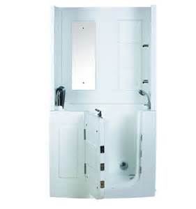 rolas walk in tub shower enclosure designer bathroom