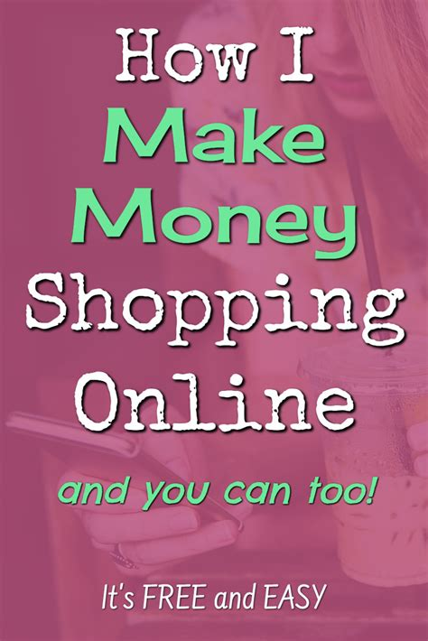 How Do You Make Money Online For Free - how to make money shopping online it s free and easy involvery community blog