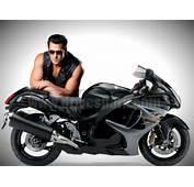 Salman Khan Bike  Suzuki Hayabusa Superbike Intruder Hayate