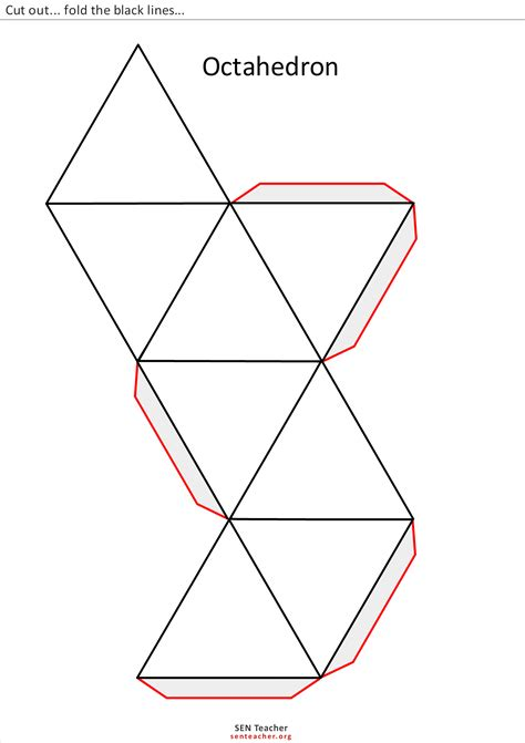 geometry net templates 3d geometric shapes templates search opening