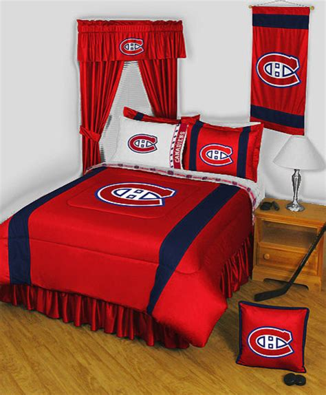 decorations montreal nhl montreal canadiens bedding and room decorations