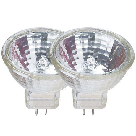 halogen light bulbs walmart great value halogen mr11 g4 10w 12v lightbulb walmart ca
