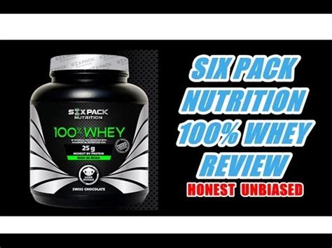 Six Pack Whey Protein six pack nutrition 100 whey protein review honest unbiased and taste test