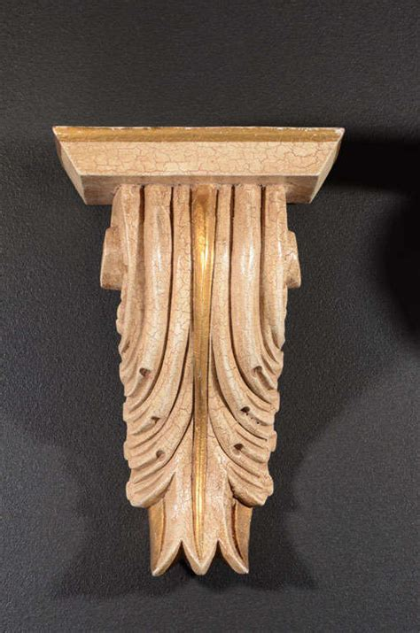 Corbels For Sale Pair Of Classical Acanthus Corbels With Carved Scroll