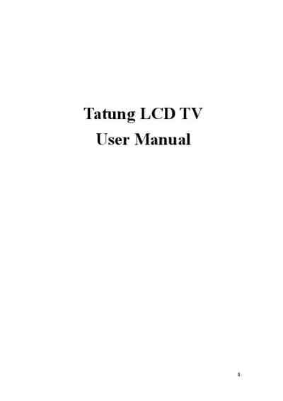 Tatung V32mchk Tv Television Download Manual For Free Now