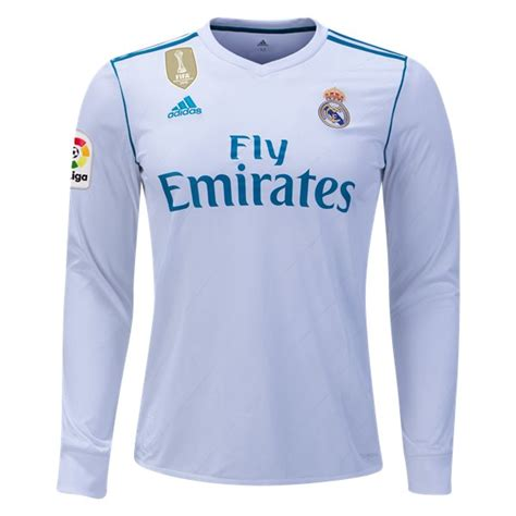 Jaket Bola Real Madrid 2017 2018 Grade Ori Official Impor 1 jersey real madrid home sleeve 2017 2018 jersey bola grade ori murah