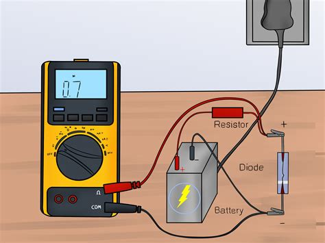 how to test a diode with a 9 volt battery check diode polarity multimeter 28 images meter check of a diode diodes and rectifiers