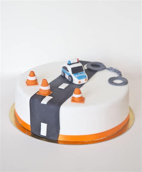 polizei kuchen polizei torte