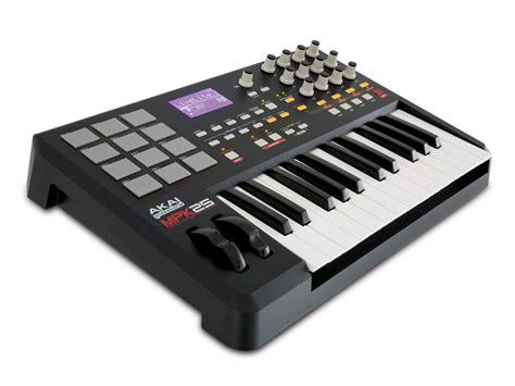 Keyboard Controller akai professional mpk25 25 key usb midi keyboard controller with mpc pads musical