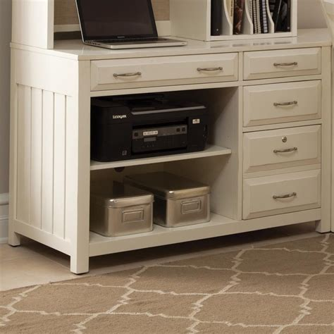 credenza drawers computer credenza with shelves and drawers by liberty