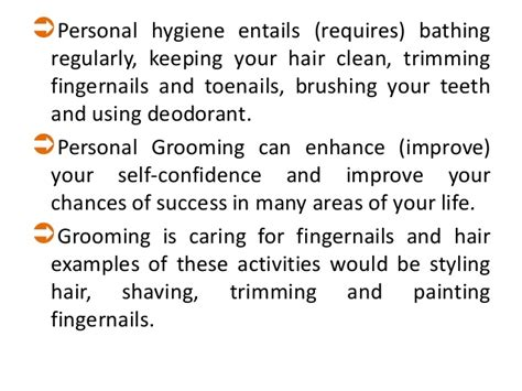 For Your Hair And Personality Grooming by B Sc Ii Unit V Grooming Skills