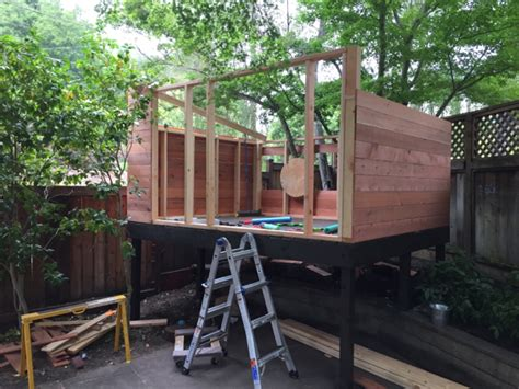 Project Elevated Playhouse Building Amp Construction