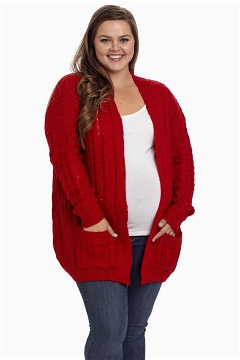 Big Sale Sale Basic Cardigan Xl New Produk cable knit plus size maternity cardigan