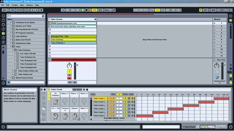Free Ableton Instrument Racks by Taiko Drum Rack For Ableton Live Free