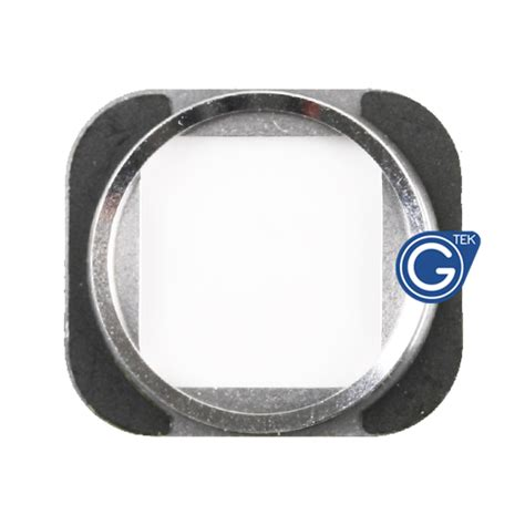 iphone 6s home button chrome ring in silver iphone 6s