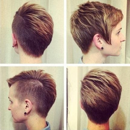 20 shaved hairstyles for women side shave short 2018 popular short hairstyles one side shaved