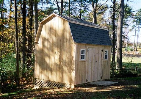 10x12 Gambrel Shed by Atlantic Shed Photos 2