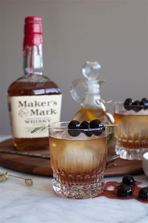 classic manhattan drink classic manhattan cocktail recipe with bourbon cherries