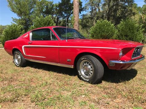ford mustang gt 1968 rot nr classic car collection stuttgart