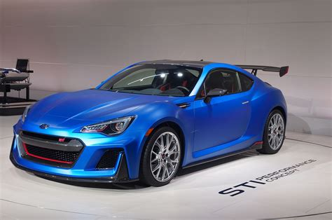 awd subaru brz subaru brz sti performance concept revealed photo image