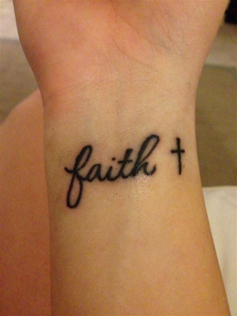 69 Adorable Faith Wrist Tattoos Faith And Tattoos
