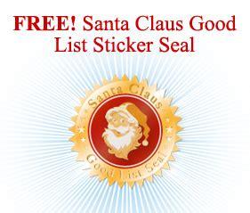santamailpostcom offering promotional discount  letters