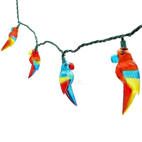 Parrot Party String Lights 8 Feet Parrot String Lights