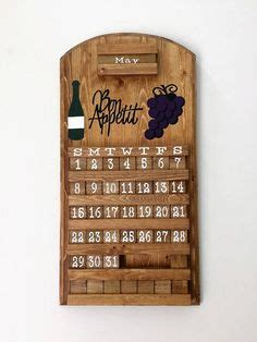 wine and design hickory calendar sunflower design wooden perpetual calendar amish crafts