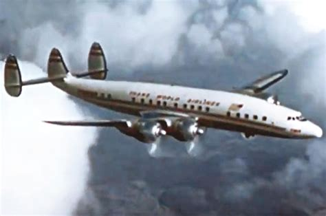 "TWA Lockheed L-1049 Constellation - ""Sally Flies to New ... L 1049"