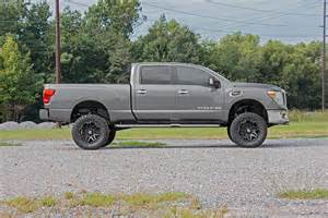 Lifted Nissan Titan 6in Suspension Lift Kit For 16 17 4wd Nissan Titan Xd