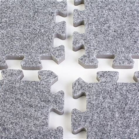 10 X 10 Interlocking Foam Mat And Black - charcoal grey interlocking tradeshow mats