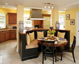 Kitchen Island In Breakfast Nook Interior Photos Of Kitchens And Breakfast Nooks