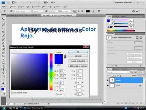 adobe photoshop cs tutorial youtube tutorial efecto cromado cristal photoshop cs youtube