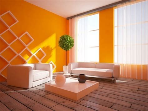 Orange Wohnzimmer by Farben F 252 R Wohnzimmer In Orange 80 Wohnideen