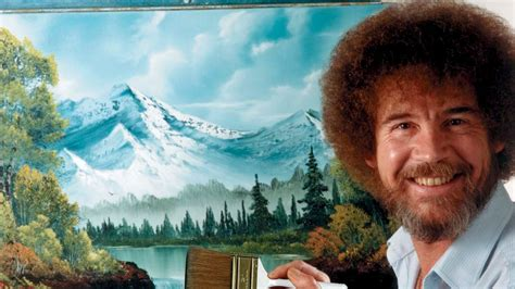 bob ross yellow painting twitch bringing bob ross the of painting back every