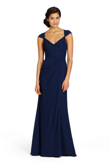 Navy Bridesmaid Dress by Navy Blue Bridesmaid Dresses Brides
