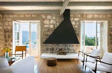 country home interior design rustic country house in croatia with contemporary elements