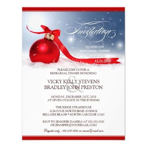 free templates for christmas dinner invitations christmas rehearsal dinner invitation template