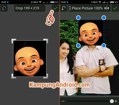 tutorial edit foto grafer aplikasi dan tutorial cara edit foto kepala upin ipin lengkap