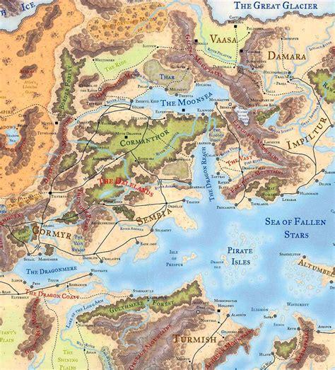 forgotten realms map wandering the moonsea region