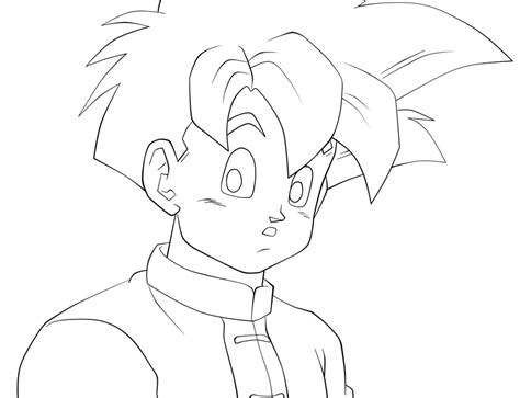 Teen Gohan Coloring Pages Coloring Pages Gohan Coloring Pages