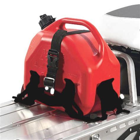 Fuel Rack by Adjustable Fuel Can Rack Black 2015 Polaris 800 Pro Rmk