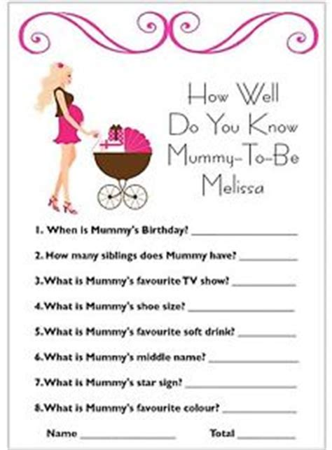 When Do You Normally A Baby Shower by How Well Do You Mummy Baby Shower Card Yum