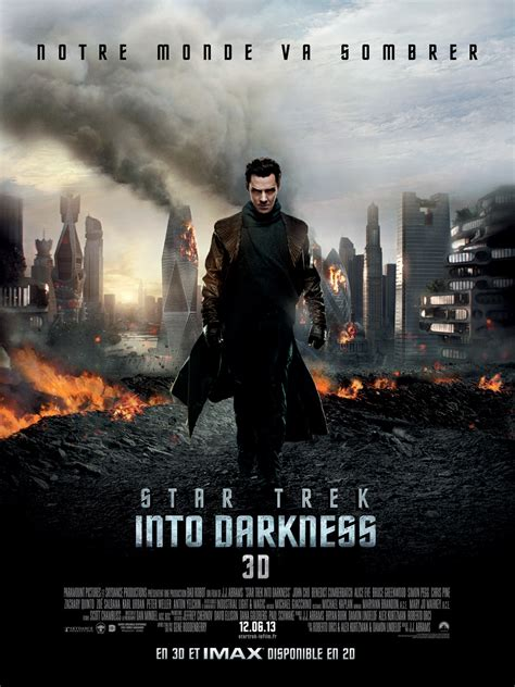 film blu six star trek into darkness en dvd ou blu ray allocin 233