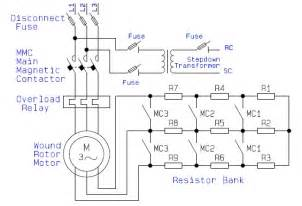 guide to the power circuit and circuit of the wound rotor ac induction motor