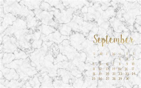 marble and gold free september desktop wallpaper beauty and the chic