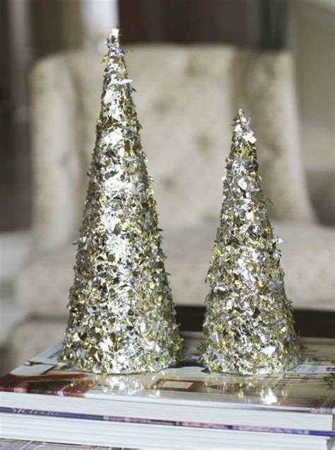 fold tin foil   breathtaking christmas decor ideas